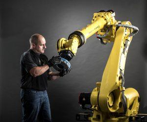 Abrasive Bürsten für den Robotereinsatz