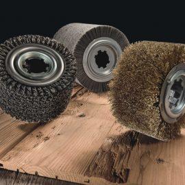 Holz strukturieren