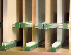 Streifen- und Plattenbürsten für Produktschutz von Kullen-Koti