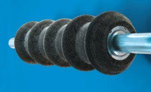 Walzenbürste mit Profil von Kullen-Koti